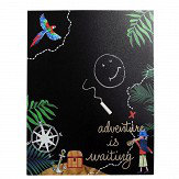 Arthouse Pirates Ahoy Chalkboard Black Art