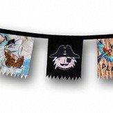 Arthouse Pirates Ahoy Bunting Multi-coloured Art