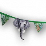 Arthouse Jungle Mania Bunting Green Art