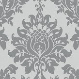 Albany Clara Charcoal Wallpaper
