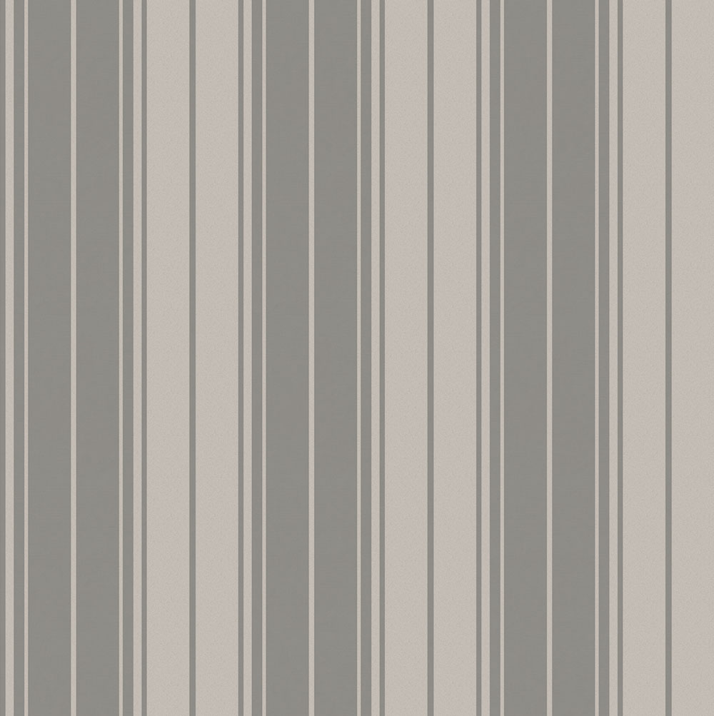 Albany Clara Stripe Charcoal Wallpaper main image