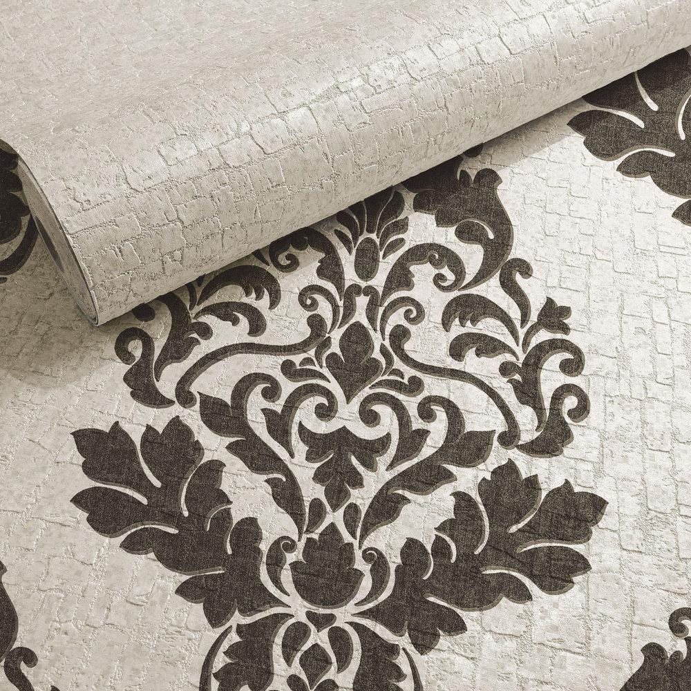 Albany Hadrian Plain Dove Wallpaper - Product code: 35453