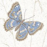 Galerie Meadow Butterflies Pale Blue Wallpaper