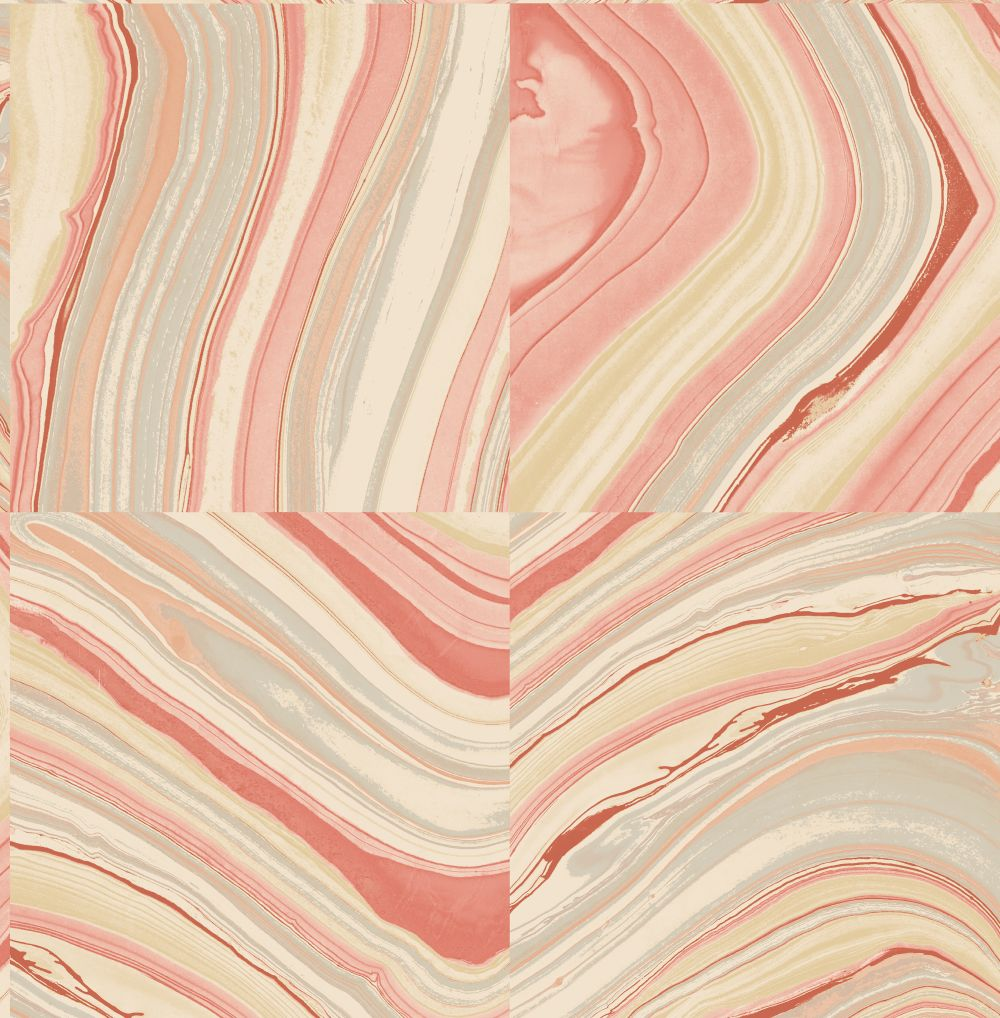 Brewers Agate Pale Red Wallpaper - Product code: FD22400