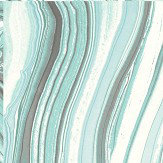 Brewers Agate Aqua Blue Wallpaper