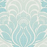 Brewers Twill Aqua Blue Wallpaper - Product code: FD22402