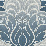 Brewers Twill Denim Blue Wallpaper