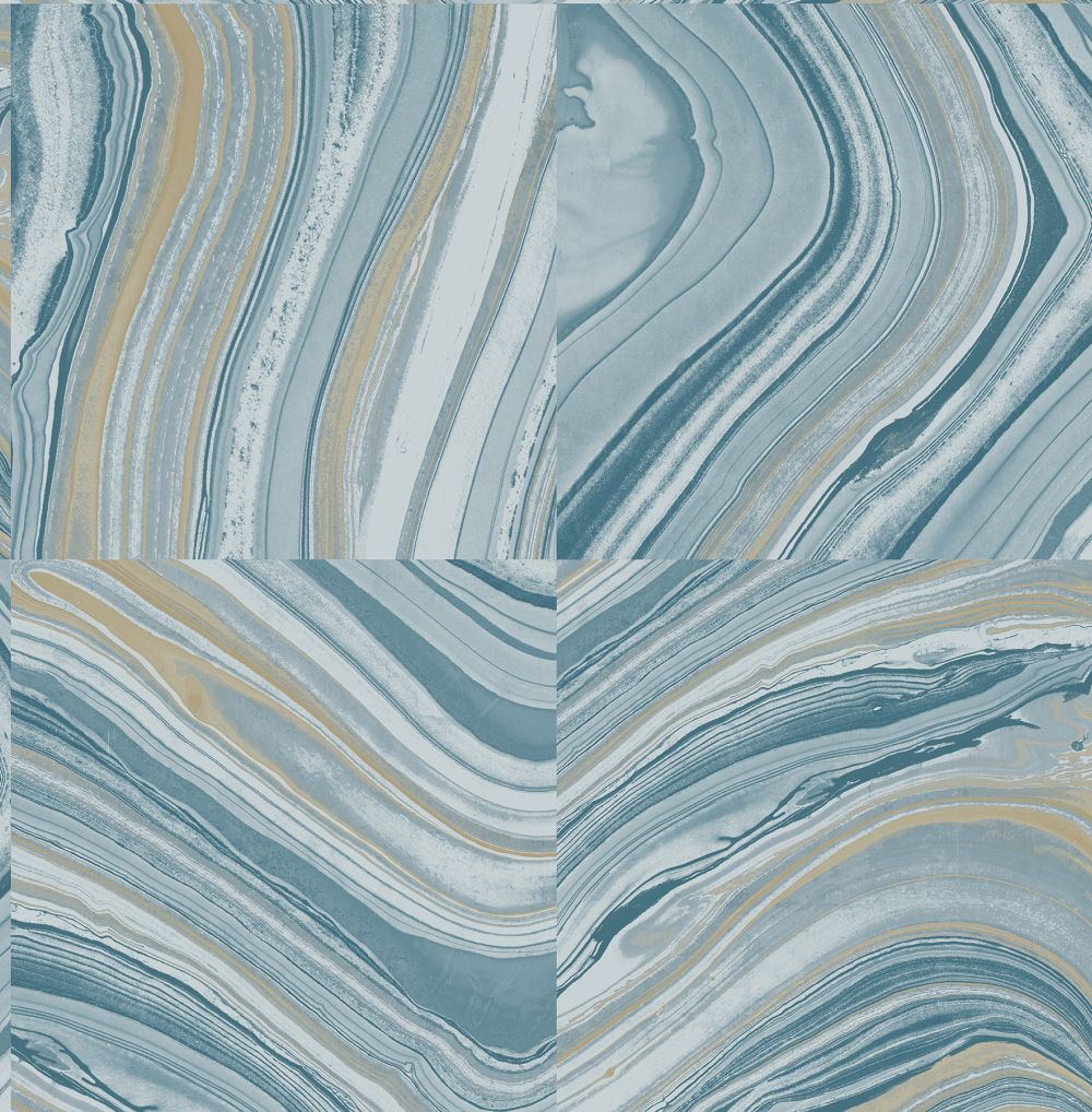 Brewers Agate Denim Blue Wallpaper - Product code: FD22440
