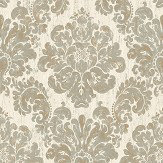 The Paper Partnership Fernhurst Cream Wallpaper - Product code: EO00200