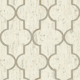The Paper Partnership Clayton Cream Wallpaper