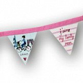 Arthouse Paris with Love Bunting Multi-coloured Art