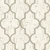 The Paper Partnership Clayton White Wallpaper - Product code: EO00203