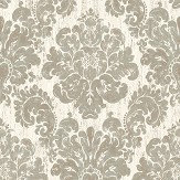 The Paper Partnership Fernhurst White Wallpaper - Product code: EO00205