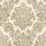 The Paper Partnership Fernhurst Gold Wallpaper