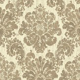 The Paper Partnership Fernhurst Tobacco Wallpaper