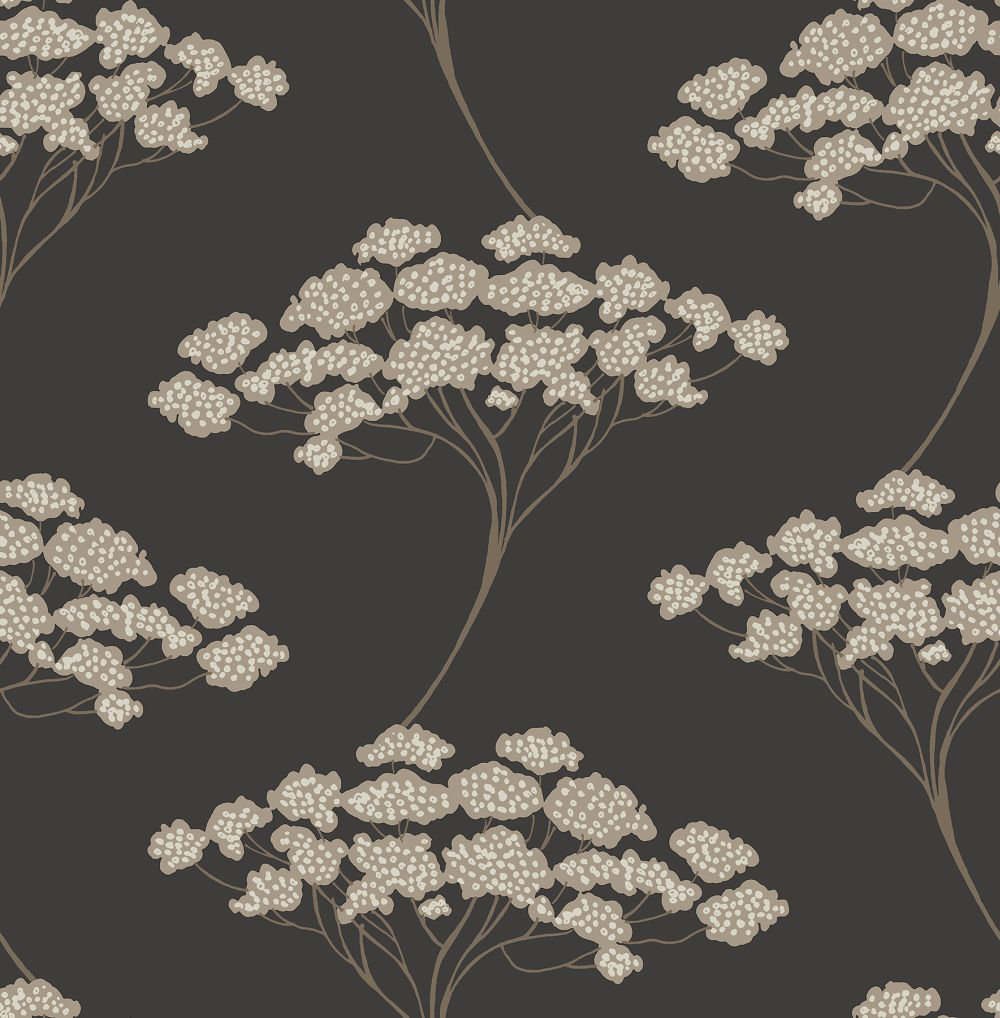Brewers Banyon Tree Charcoal Wallpaper main image