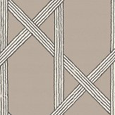 Brewers Mandara Taupe Wallpaper