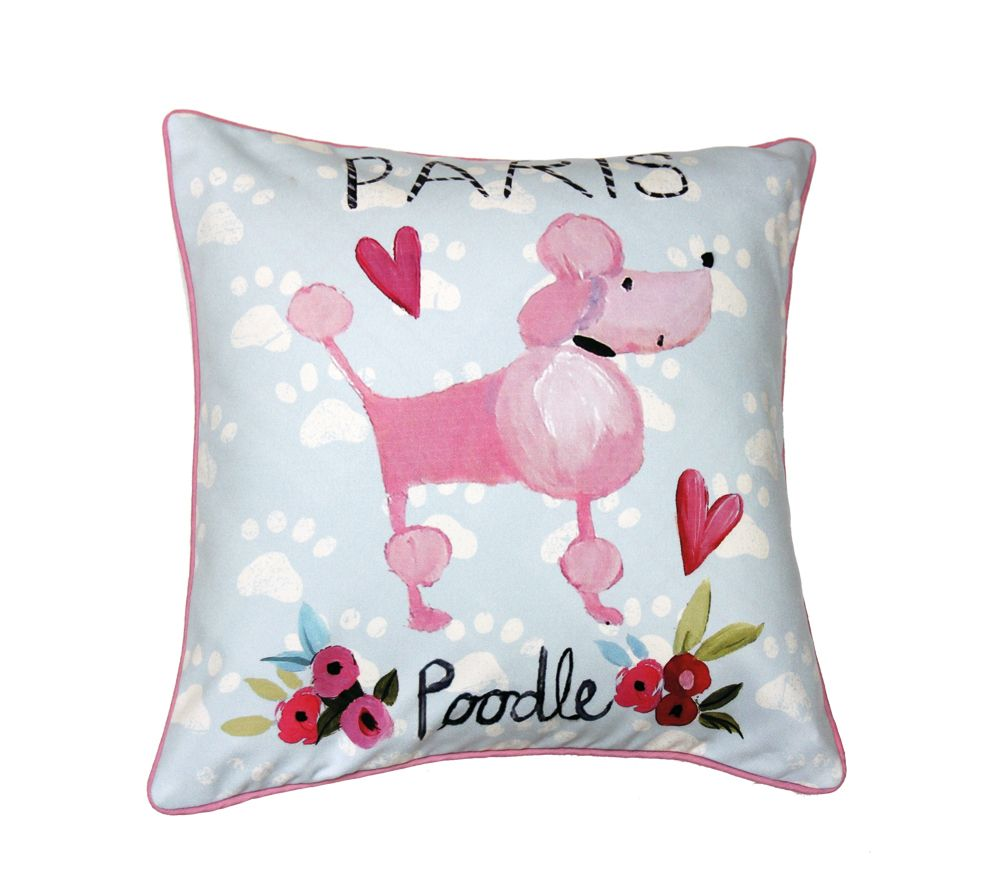Arthouse Paris with Love Cushion Multi-coloured - Product code: 008341