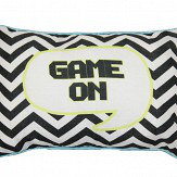 Arthouse Boys Life Game On Cushion Multi-coloured