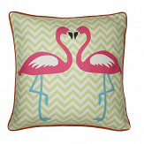 Arthouse Girls Life Flamingo Cushion Multi-coloured