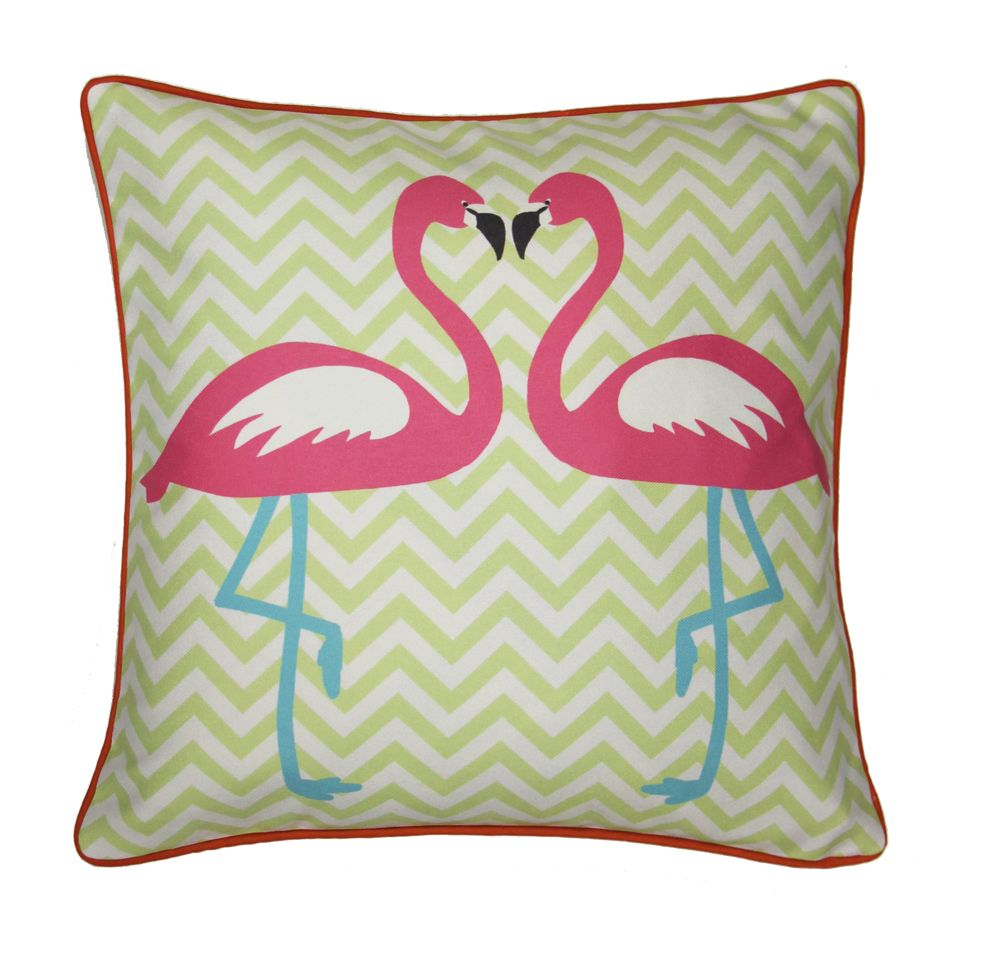 Arthouse Girls Life Flamingo Cushion Multi-coloured - Product code: 008345