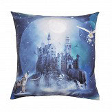 Arthouse Magical Kingdom Cushion Blue