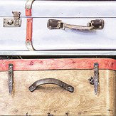 Albany Vintage Suitcase Multi Wallpaper
