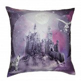 Arthouse Magical Kingdom Cushion Violet