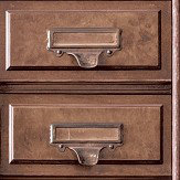 Albany Vintage Drawers Brown Wallpaper - Product code: 11970