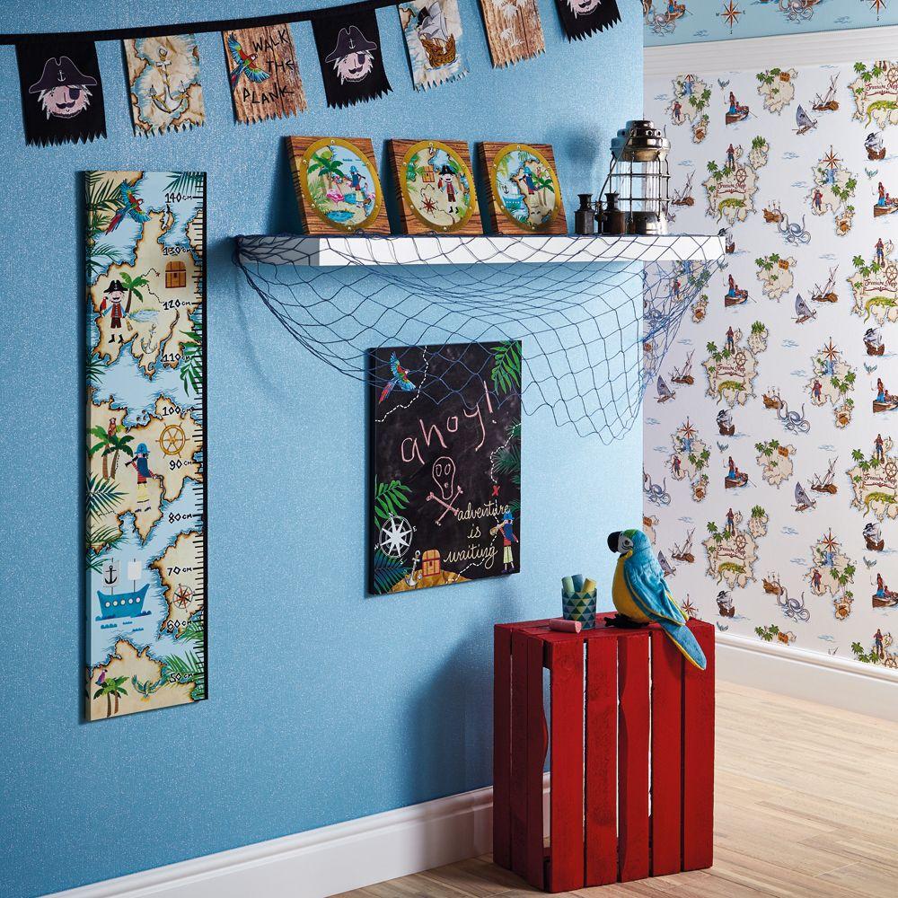 Arthouse Pirates Ahoy Scroll Multi-coloured Art extra image