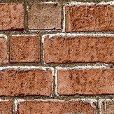Albany Red Brick Wallpaper