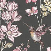 Albany Charm Charcoal Wallpaper