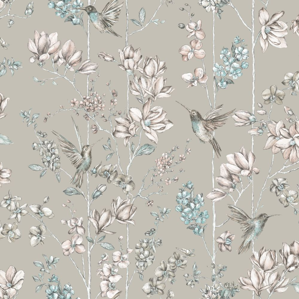 Albany Charm Grey Wallpaper - Product code: 12394
