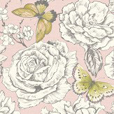 Albany Primrose Pink Wallpaper - Product code: 98832