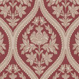 Albany Pienza Red Wallpaper