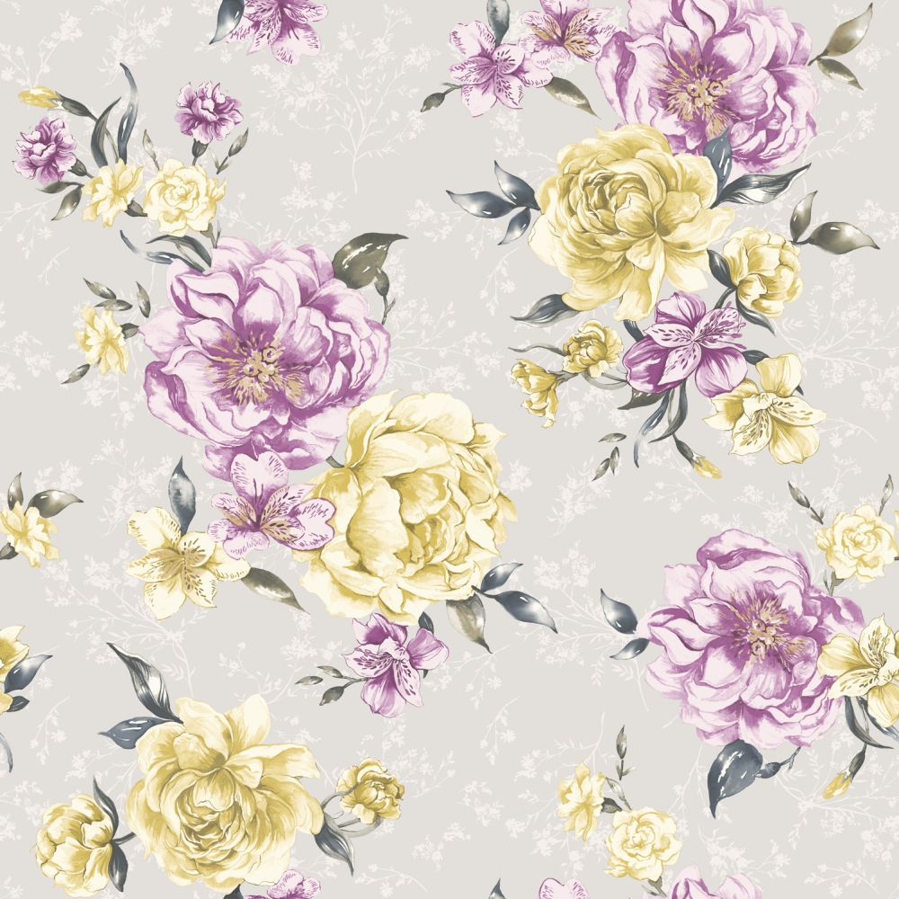 Albany Josephine Grey Wallpaper - Product code: 98861