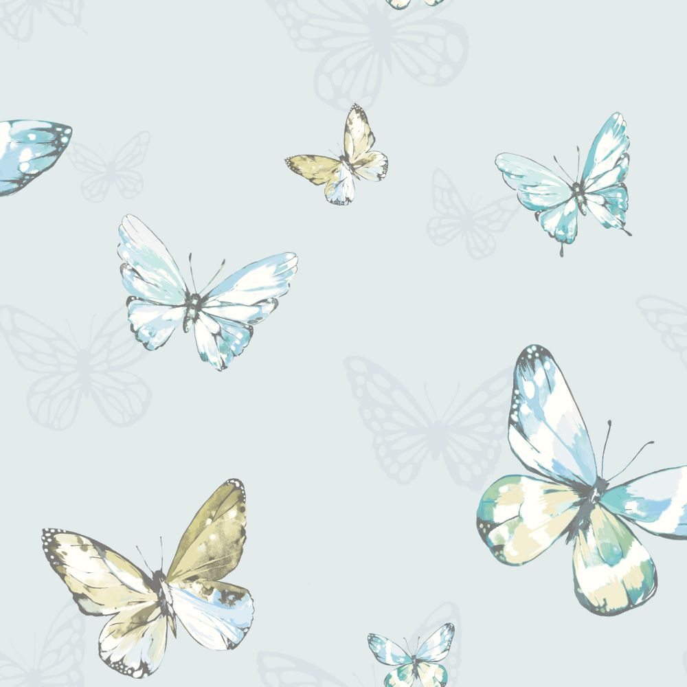 Albany Amelia Pale Blue Wallpaper - Product code: 98871