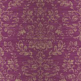 Arthouse Kyasha Cranberry Pink Wallpaper