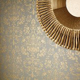 Arthouse Kyasha Gold Wallpaper