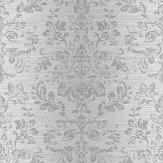 Arthouse Kyasha Silver Wallpaper