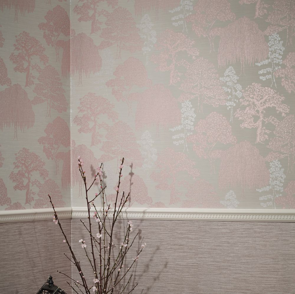 Meili By Arthouse Rose Gold Wallpaper Direct