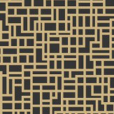 Arthouse Satoni Black / Gold Wallpaper