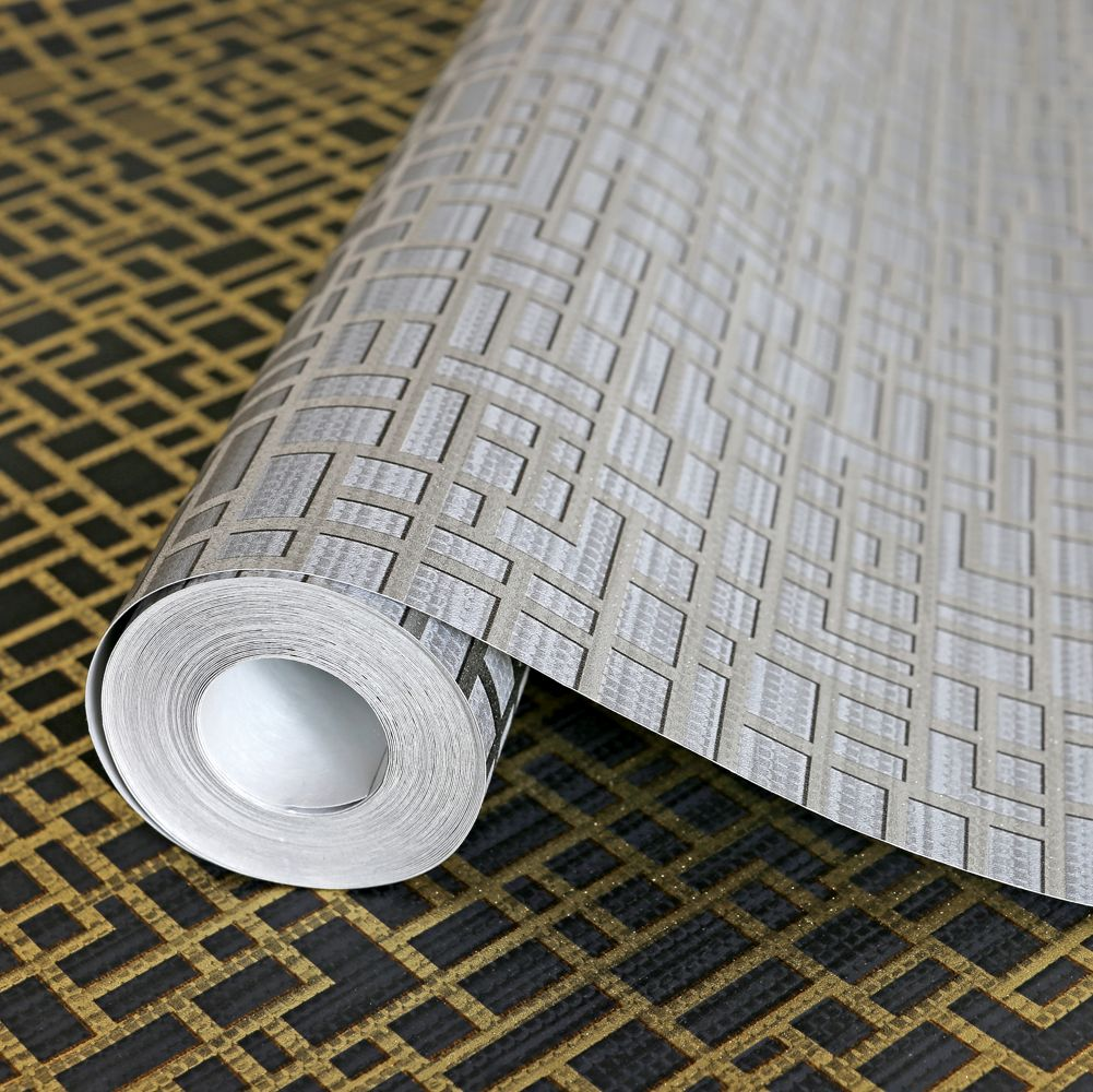 Arthouse Satoni Black / Gold Wallpaper - Product code: 293009