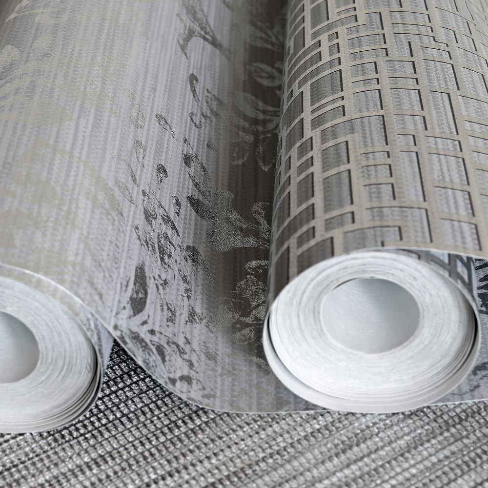 Arthouse Satoni Silver Wallpaper - Product code: 293100