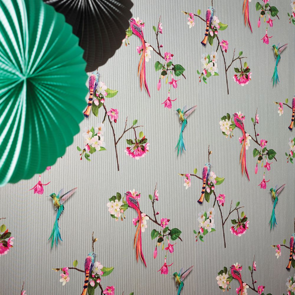 Arthouse Kotori  Silver Wallpaper - Product code: 293106