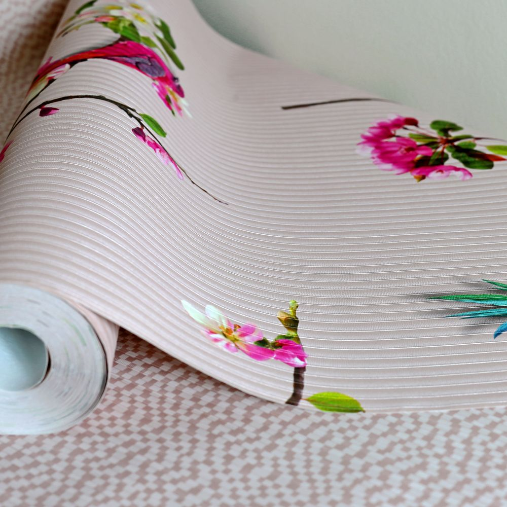 Arthouse Mei Blush Pink Wallpaper - Product code: 293107