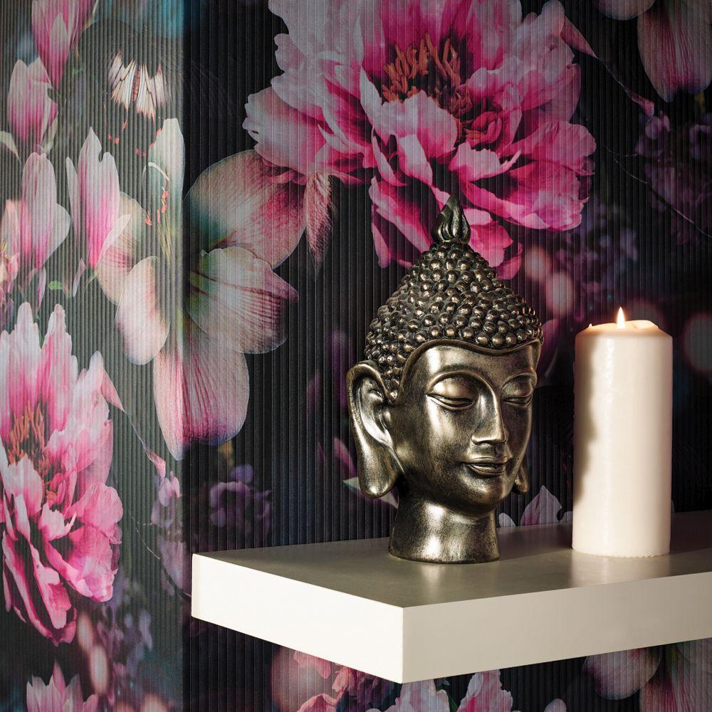 Momoka Wallpaper - Rose Pink - by Arthouse