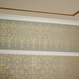 Arthouse Frieze Kyasha  Gold Border