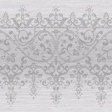 Arthouse Frieze Kyasha  Silver Border - Product code: 293208