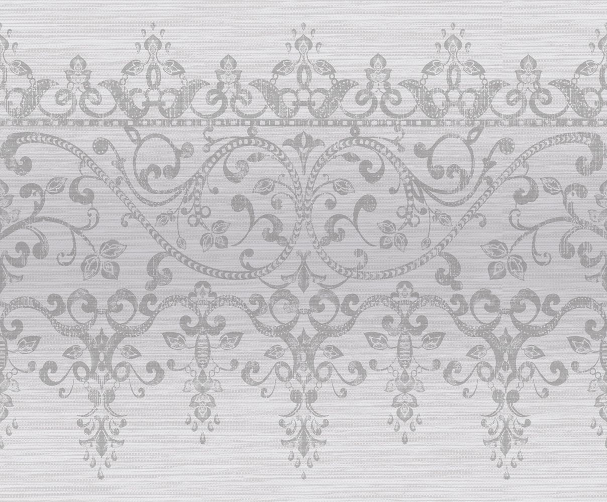 Frieze Kyasha  Border - Silver - by Arthouse
